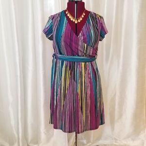 Duo Maternity Wrap Dress